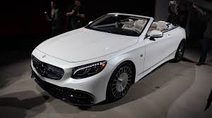 Maybach brought the vision 6 back to pebble beach this year, this time with an even more incredible interior and without its roof. Mercedes Maybach Handpicking S650 Cabriolet Buyers In U S