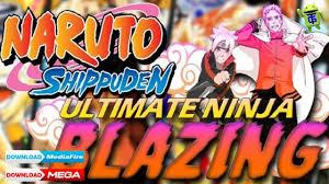 Naruto Blazing MOD Apk Ultimate Ninja Blazing JP+EN Download   Naruto,  Ninja games, Naruto shippuden