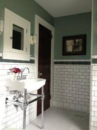 old house bathroom remodel. this old house reader remodel contest, bathrooms - subway tile \u0026 stained wood door bathroom l