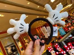 PHOTOS: Wave Hello to the NEW Mickey Mouse Glove Headband at Walt Disney  World - WDW News Today