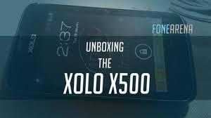Xolo X500 Review