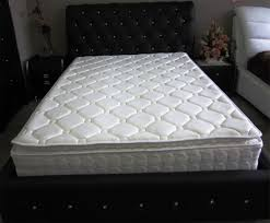 queen size mattress. Queen Size Pocket Spring Mattress With Latex \u0026 Memory Foam Pillow Top Comfortable R