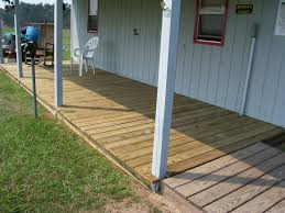 and easy pressure treated deck
