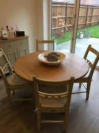 neptune chichester round dining table tables