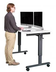 60 crank adjule height sit to stand up desk
