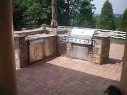 outdoor bbq grills. Maryland Custom BBQ Grill Contractor Outdoor Bbq Grills B