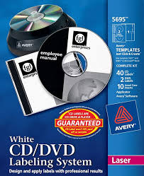 avery template 8965 amazon com avery matte white film dvd labeling systems ave5695
