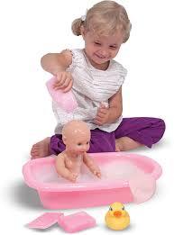 mine to love doll bathtub set