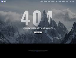 Wordpress 404 Page Design Quadra Exclusive Website Template Awesome 3d 404 Page