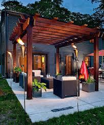 outdoor lighting for pergolas. Torches Pergola Lighting Ideas Furniture Outdoor Arbors Pergolas .  For O