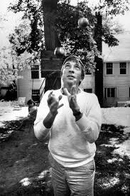 john updike academy of achievement john updike juggles apples and careers at home in ipswich 1966