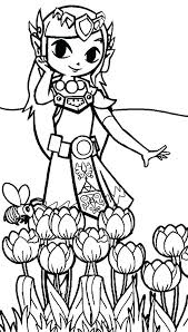 Zelda Printable Coloring Pages At Getcoloringscom Free Printable
