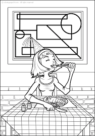 Sweden 4 Coloring Pages 24