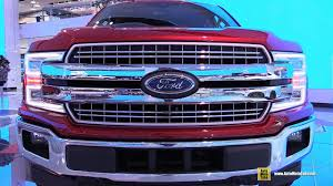 2018 ford f150. interesting ford 2018 ford f150 lariat  exterior and interior walkaround debut at 2017  detroit auto show youtube throughout ford f150