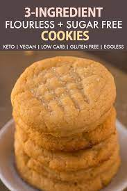 If your bananas are small, use 3 1/2 to 4. 3 Ingredient Keto Sugar Free Flourless Cookies Paleo Vegan Low Carb The Big Man S World