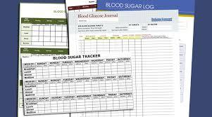 5 Free Printable Blood Sugar Log Templates