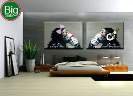 >best wall paintings for living room art designs large framed hand  best wall paintings for living room art designs large framed hand painted gorilla in pictures home