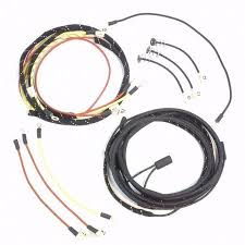ba volt negative ground ford electronic ignition kit the ford 8n serial 263844 up complete wire harness 1 wire alternator