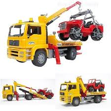 PICKUP TRUCK CRANE Rc Tow Truck Toy Vehicles For Boys Tow Truck Toy ...