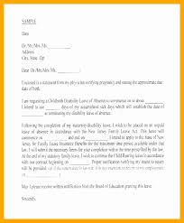 Absence From School Letter Template Best Of Maternity Leave