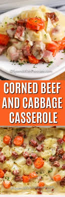 Pour into a 2 quart casserole dish. Corned Beef Casserole With Cabbage Spend With Pennies