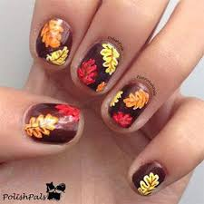 nail designs for fall 2014. autumn fall inspired nail art designs trends ideas for girls 2013 2014 6 autumn\u2026