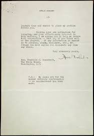 amelia earhart and presidents letter from amelia earhart to  amelia earhart and presidents letter from amelia earhart to president roosevelt regarding her world