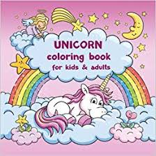 Amazoncom Unicorn Coloring Book For Kids And Adults Bonus Free