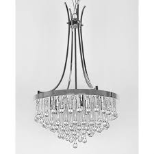 furniture dazzling crystal and bronze chandelier 16 glamorous chandeliers with crystals 30 dining room light fixtures