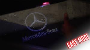 Mercedes Benz Puddle Lights Not Working How To Install Mercedes Benz Door Light Mercedes A250 2016 Amg Line