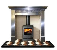 Cast Iron Fireplaces  Harewood 36 Full Polished Cast Iron FireplaceCast Fireplaces