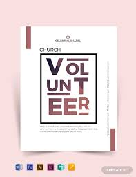 Volunteer Flyers Samples 18 Church Flyer Designs Examples Psd Ai Word Eps