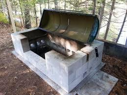 cinder block fire pit designs