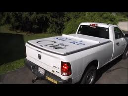 Homemade Tonneau cover - YouTube