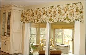 Patterns For Kitchen Curtains Kitchen Eye Catching Kitchen Valances With Cool Modern Patterns