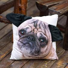 3d decorative cute pug