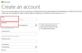 Create Outlook Fastest Way To Create Microsoft Live Com Hotmail Com