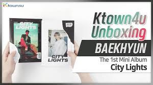 City Lights Of China Coupon Kpop Ktown4u Com Baek Hyun Mini Album Vol 1 City Lights