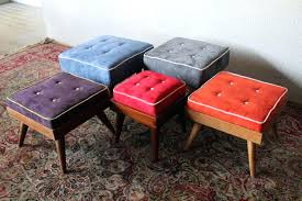 mid century modern ottoman. Mid Century Storage Ottoman Image Of Modern Ideas Decorum Literary Definition