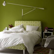 Lemon And Grey Bedroom Bedroom Colour Schemes Ideal Home