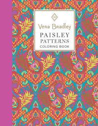 Vera Bradley New Patterns Unique Mary Maxim Vera Bradley Paisley Patterns Adult Coloring Book