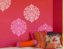 room painting stencils wall stencil moroccan damask pattern wall room decor made omg paint on wall art stencils for painting with room painting stencils wall stencil moroccan damask pattern wall