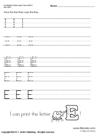 Lower Case Letter Practice Sheet Pre Writing Uppercase And Lowercase Letters