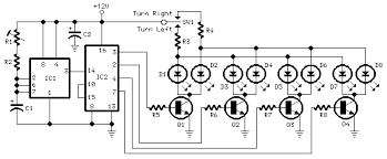circuit diagrams u sequential turn lights driver sequential turn lights driver