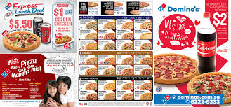 domino s express lunch deal singapore food delivery