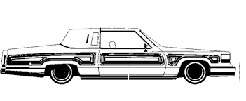 Small Picture Cadillac Lowrider Coloring Page Art activities Pinterest