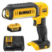 Dewalt Charger Yellow Light Dewalt Dcl050 20v Max Led Hand Held Area Light Dcb204 4ah