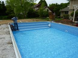 end custom inground pool steps brookfield steps for inground pool with liner t36