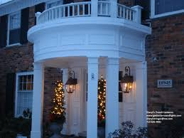 french outdoor lighting. Sheryl\u0027s French Style Gas Lanterns On Home In Michigan Outdoor Lighting G