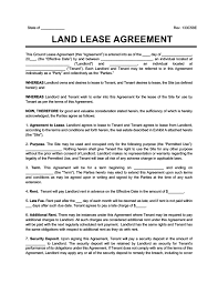 .property sale deed for property registry or lease agreement in hindi, english, and urdu. Land Lease Agreement Print Download Legal Templates